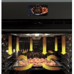 """GE Profile 30"""" Smart Built-In Convection Double Wall Oven with No Preheat Air Fry and Precision Cooking"""