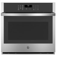 "30"" Smart Built-In Self-Clean Single Wall Oven with Never-Scrub Racks"