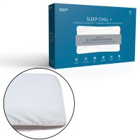 Sleep Chill + Advanced Cooling Gel Memory Foam Pillow, Standard / Queen Product Image