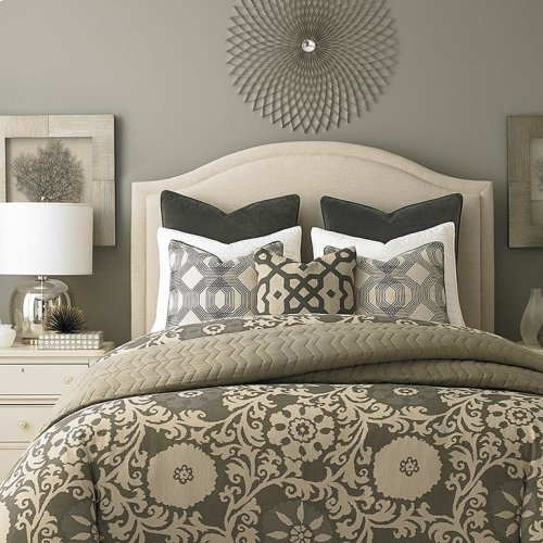 Custom Uph Beds Vienna Arched Full Headboard