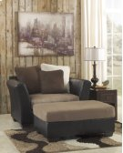 CLEARANCE!!! Mocha Oversized Accent Ottoman Product Image