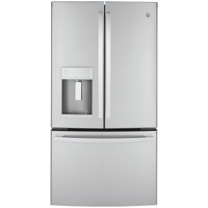 GEGE® ENERGY STAR® 22.1 Cu. Ft. Counter-Depth Fingerprint Resistant French-Door Refrigerator