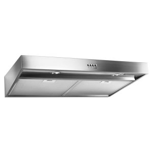 """30"""" Range Hood with Dishwasher-Safe Full-Width Grease Filters"""