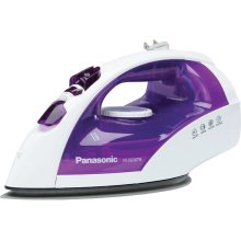 Steam/Dry Iron with Titanium, Non-Stick Coated Curved Soleplate NI-E650TR