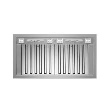 36 Insert Hood, 2 motors 1000 CFM Stainless Steel