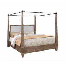 Madeline Rustic Smokey Acacia Queen Bed
