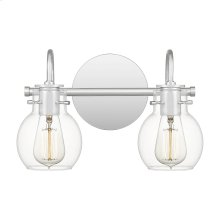 Andrews Vanity Light in Polished Chrome