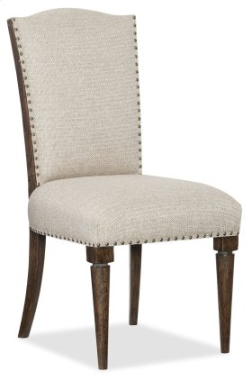 Dining Room Roslyn County Deconstructed Upholstered Side Chair