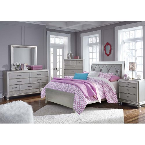 Olivet - Silver 2 Piece Bed Set (Full)