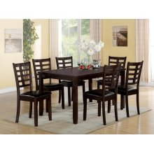 ESP. 7PC PK DINING TABLE SET