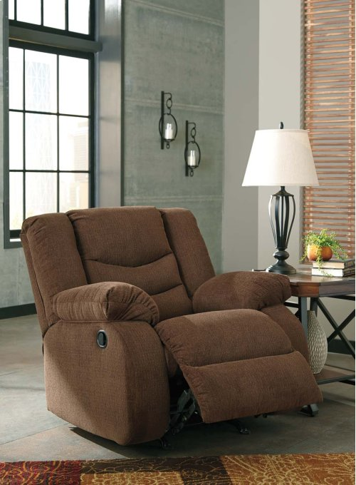 Tulen Rocker Recliner - Chocolate