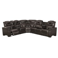LAF REC PWR Loveseat w/Console
