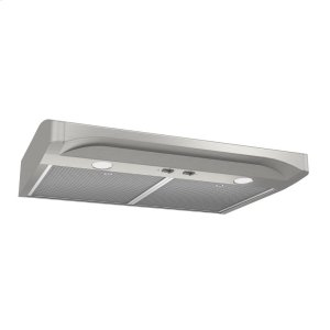 BroanAlta 1 36-inch 250 CFM Stainless Steel Range Hood with light
