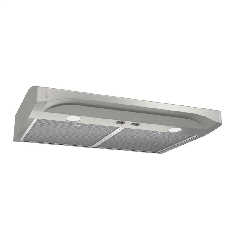 Alta 1 30-inch 250 CFM Stainless Steel Range Hood with light