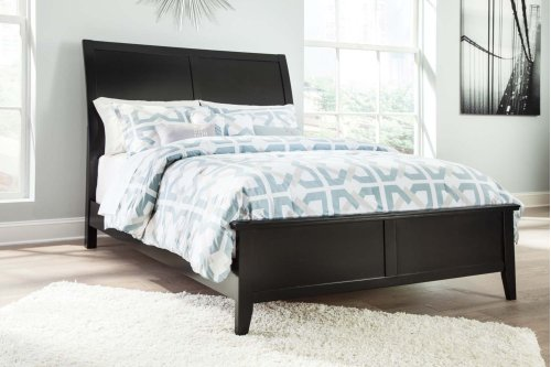 Ashley Queen Size Sleigh Bed