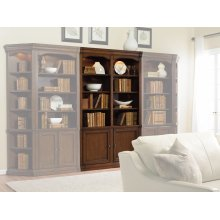 Home Office Cherry Creek 52'' Wall Bookcase