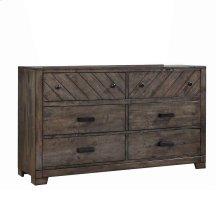 Lawndale Rustic Dresser