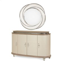 Sideboard W/wall Mirror