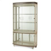 Upholstered Curio Product Image