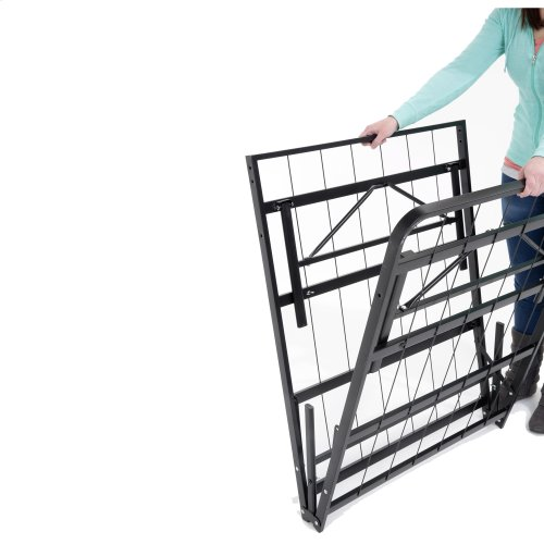 Atlas Bed Base Support System w/ MDF Wood Deck, Twin