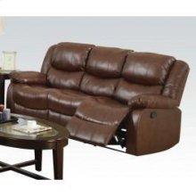 Brown Sofa W/motion