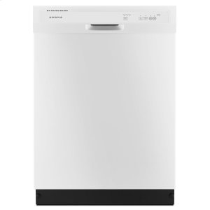 AmanaDishwasher with Triple Filter Wash System White