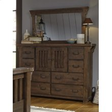 Door Dresser - Tobacco Finish