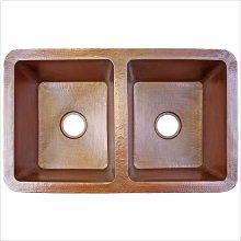 Undermount Kitchen Double Bowl