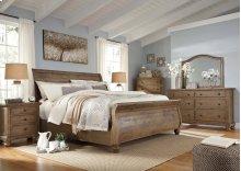 Trishley - Light Brown 3 Piece Bed Set (King)