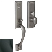 Satin Black Cody 3/4 Escutcheon Trim
