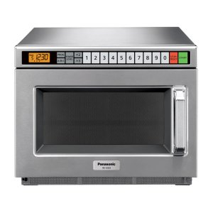 Panasonic1200 Watt Compact Commercial Microwave Oven with 60 Programmable Memory Pads NE-12523
