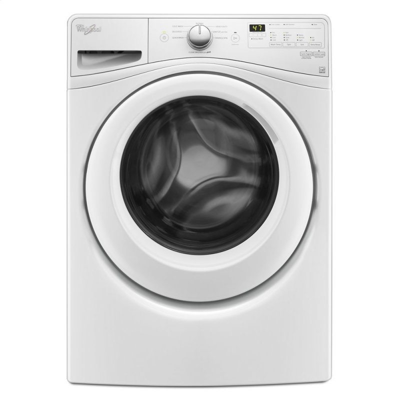 WFW7590FW Whirlpool 4.2 cu.ft Compact Front Load Washer with ...