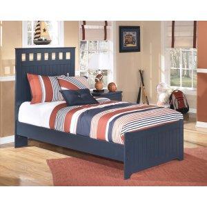 AshleySIGNATURE DESIGN BY ASHLEYLeo - Blue 3 Piece Bed Set (Twin)