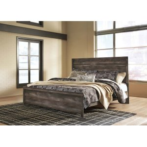 Ashley Furniture Wynnlow - Gray 2 Piece Bed Set (King)