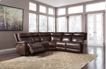 Zaiden - Antique 4 Piece Sectional