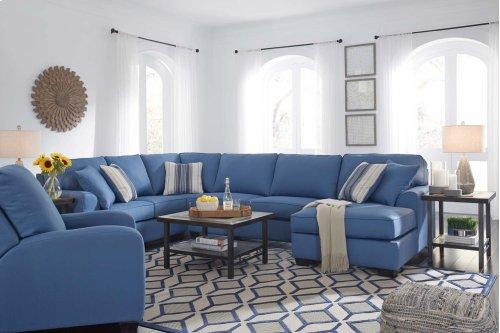 Brioni Nuvella® - Blue 3 Piece Sectional
