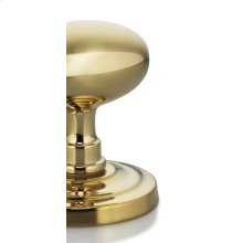Ornate Round Turnpiece in MB (MaxBrass® PVD Plated)
