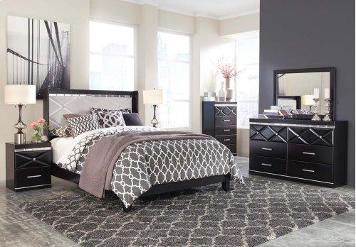Fancee - Black 2 Piece Bed Set (Queen)