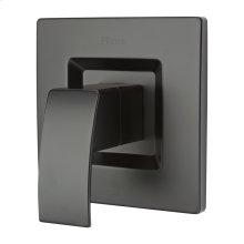 Matte Black 1-Handle Tub & Shower Valve Only Trim