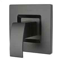 Matte Black 1-Handle Tub & Shower Valve Only Trim
