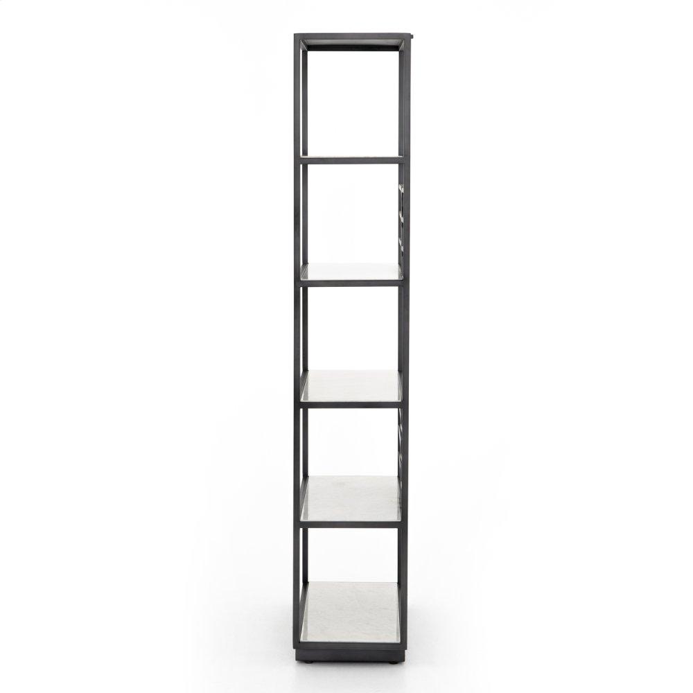 Marcel Bookshelf-marble