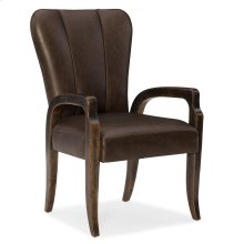 Dining Room Crafted Leather Arm Chair