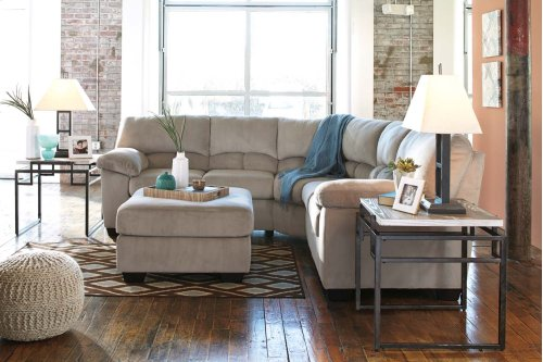 Dailey - Alloy 2 Piece Sectional