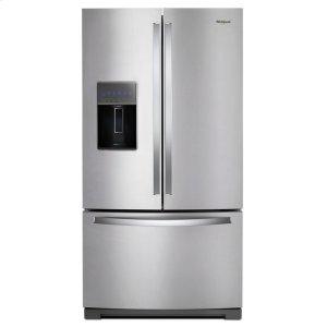 Whirlpool36-inch Wide French Door Refrigerator - 27 cu. ft.