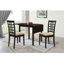 Kelso Casual Cappuccino Dining Table