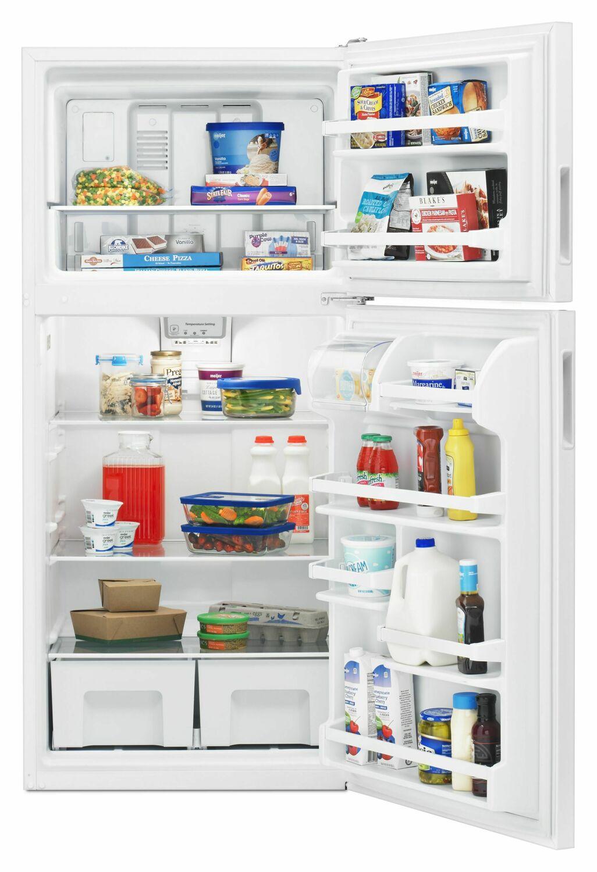 Art318ffdw Amana 30 Inch Top Freezer Refrigerator With
