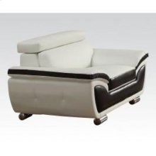 Wh/coff Bonded L. Match Chair
