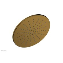 """12"""" Round Shower Head 3-338 - French Brass"""