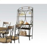 Baker's Rack W/slate Decor Product Image