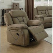Houston Casual Tan Glider Recliner Product Image